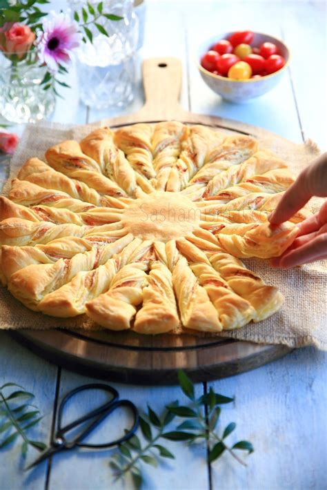 cuisine boursin tarte soleil au saumon boursin cuisine