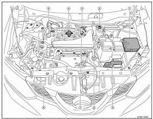 2008 Nissan Rogue Engine Diagram
