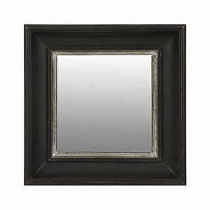 Petit Miroir Carré : miroir carr noir noir interior 39 s ~ Teatrodelosmanantiales.com Idées de Décoration