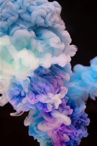 wallpaper colorful smoke black background abstract