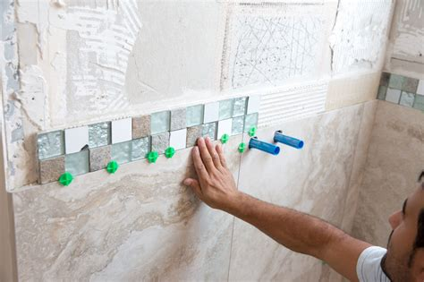 how to tile a bathroom wall how to tile a shower