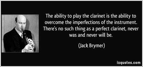 Jack Brymer's quotes, famous and not much - Sualci Quotes 2019
