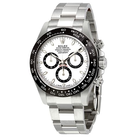 Rolex Cosmograph Daytona White Dial Stainless Steel Oyster