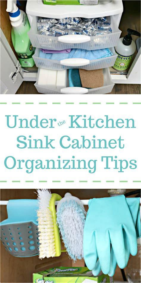 Under The Kitchen Sink Cabinet Organization Tips  Mom 4 Real