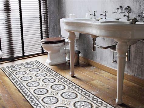 lino sol cuisine on craque pour la déco imitation carreaux de ciment joli