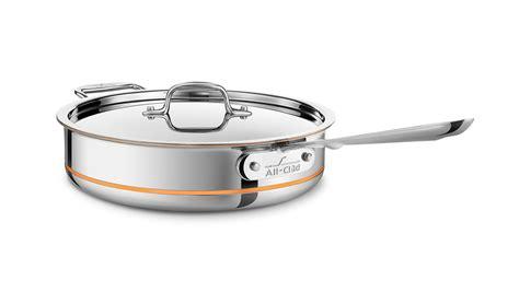 clad copper core saute pan  quart cutlery