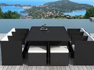 Awesome table et chaise de jardin design photos awesome for Decoration de jardin en resine 10 chaises fauteuil salle a manger bricolage maison et