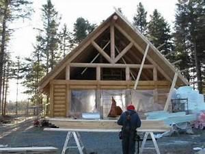 maison haut de gamme en bois rond a vendre doovi With maison en bois quebec 7 constructeur de maisons haut de gamme maisons bell