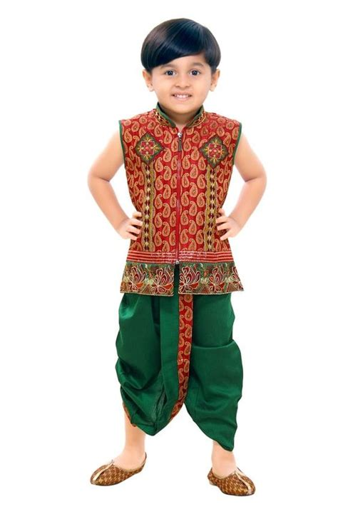 Kid with Indian Clothing Indian Traditional clothing on kid source  www.textile-india.com ...