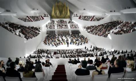 grande salle philharmonie 1 la philharmonie de olivier berni interieurs