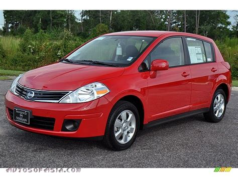 red nissan versa 2012 nissan versa 1 8 s hatchback in red alert 290629