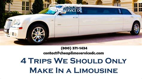 Cheap Limousine Service by 4 Trips We Should Only Make In A Cheap Limousine 800