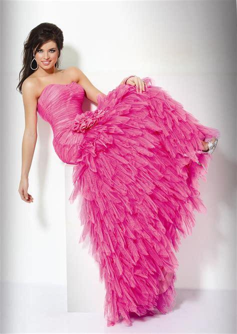 Wedding Lady Hot Pink Wedding Dress