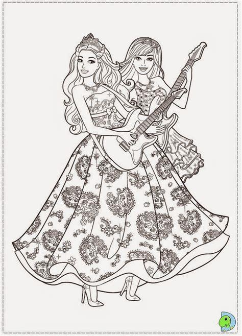 dinokids desenhos  colorir desenhos da barbie  princesa   popstar  colorir