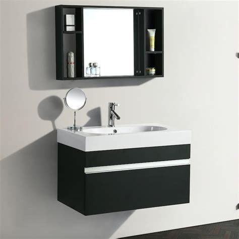 arredo bagno idea mobile arredo bagno idea 90 cm sospeso moderno nero cod
