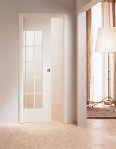 porte coulissante a galandage lapeyre maison design With maison a finir soi meme 9 placard coulissant sur mesure sous escalier mural