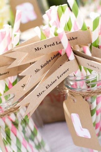 unique wedding escort card place card ideas
