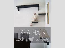 Ikea hack Making a new cat tree Tatiana's Delights