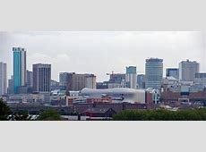 Birmingham skyline Birmingham from the Wheels Park The