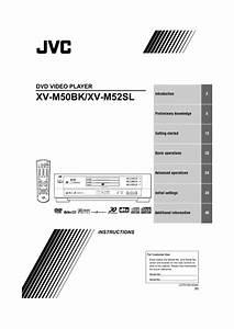 Xv-m50bk Manuals
