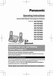 Panasonic Cordless Phone User Manual