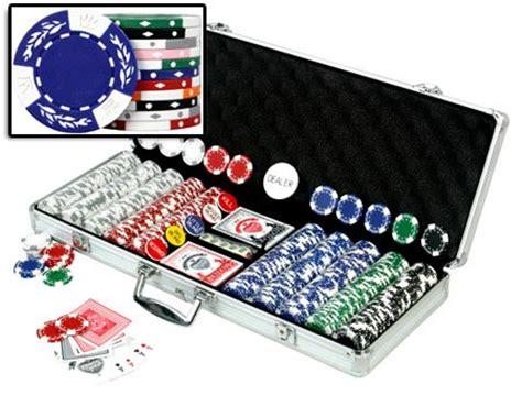 Da Vinci Premium 500 Crown Wheatear Poker Chips Set Buy