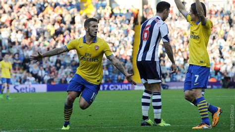West Bromwich Albion 1 - 1 Arsenal - Match Report ...