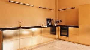 Besteck Gold Ikea : the designer ikea hack that turned this kitchen gold better homes and gardens ~ Sanjose-hotels-ca.com Haus und Dekorationen