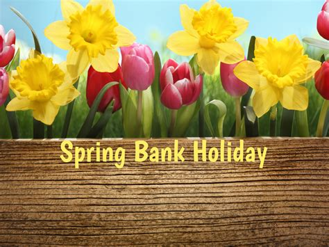 spring bank holiday celebrated