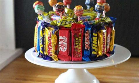 cakes decorated with lollies easy lolly birthday cake recipe kidspot