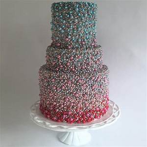 Wedding Cake Trends: Beaded Cakes - Food Heaven Food Heaven