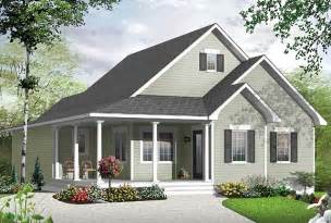 Simple Country Style House Placement by Simple Cape Cod Cottage House Plan Drummond House Plans