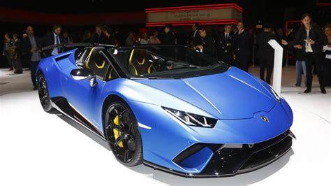 Lamborghini Huracan Performante Spyder At The 2018 Geneva