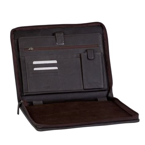 porte document conf 233 rencier en cuir marron company l aiglon