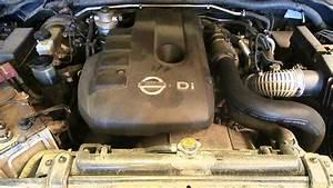 Wrecking 2010 Nissan Navara Engine 2 5  Diesel Turbo  Yd25