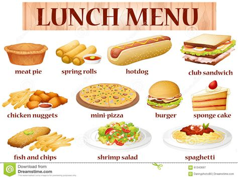 different types of cuisine different kinds of food clipart clipground