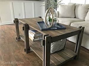 ana white rustic farmhouse coffee table featuring With rustic farm coffee table