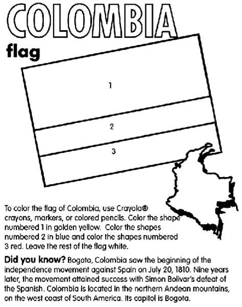 Colombia Coloring Page   crayola.com