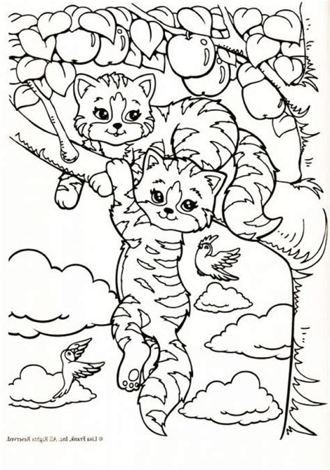 coloring coloring pages  lisa frank  pinterest