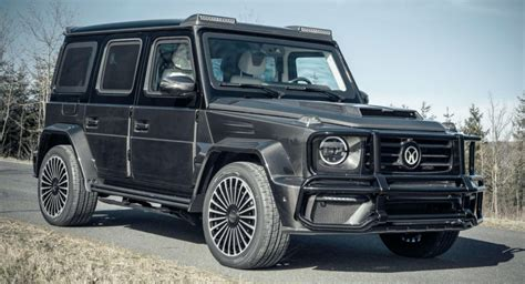 Mercedes g63 mansory, 2020, full options, zero km please visit us in our new showroom, sheikh zayed road, exit no. This Mansory Mercedes-AMG G63 Is Literally Bulletproof   Carscoops