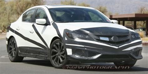 Spied 2016 Acura Ilx  Acura Connected