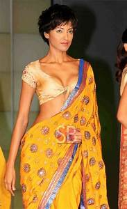 Bright Yellow Saree with short Choli Blouse Fashion India Pakistan S Asia Pinterest Yellow