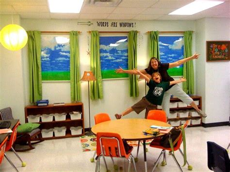 windows for a windowless ro classroom middle school