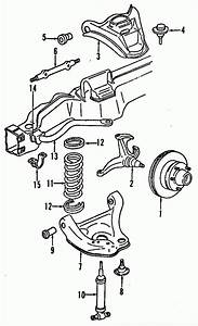 1996 Chevy S10 Suspension Parts Diagram