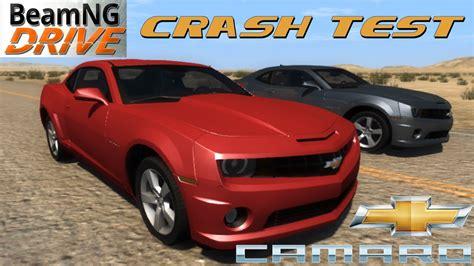 beamng drive crash test mod car chevrolet camaro