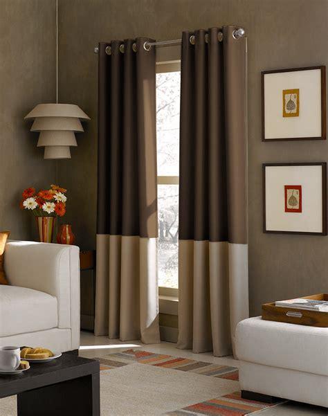 kendall color block grommet curtain panel curtainworks