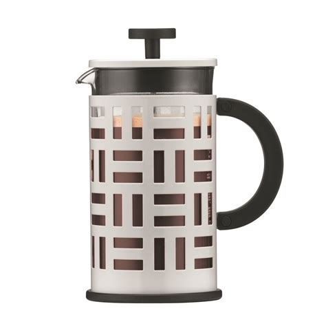 You get complete control over your brew, and you can use a french press coffee maker to make other beverages like tea or even cold. Bodum EILEEN French Press Coffee maker, 8 cup, 1 L, 34 oz, White - Walmart.com - Walmart.com