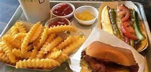 single hamburger shake shack