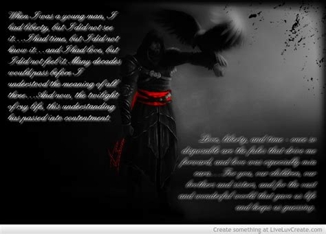 Ezio Auditore Quotes Death