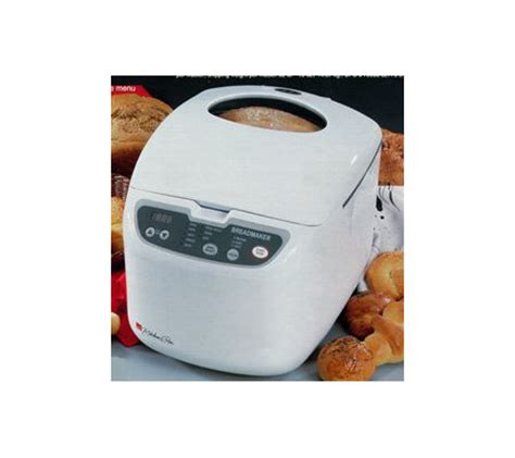 regal kitchen pro collection regal k6725 kitchen pro 2 lb horizontal breadmaker qvc com